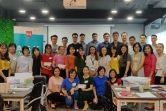 Triple Gems Workshop   Vietnam